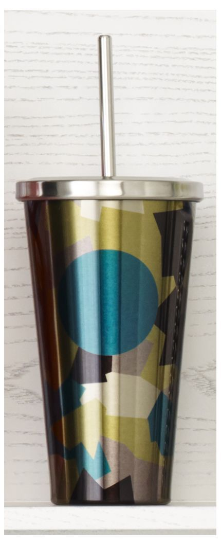 Insulated Stainless Steel Cold Cup Tumbler Featuring A
