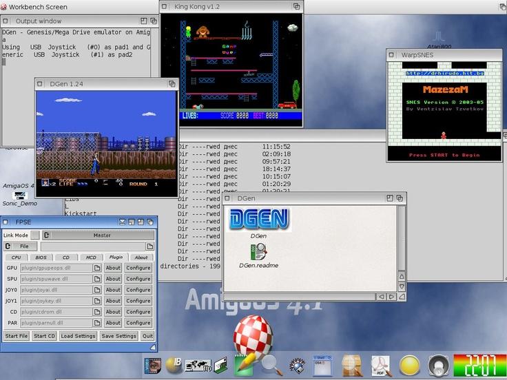 Screenshot of AmigaOS 4.1:  Internet Site,  Website, Web Site