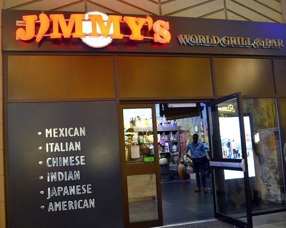 Jimmy S World Buffet Amp Bar At The O2 In London Serves Different Cuisines Such As Mexican Thai