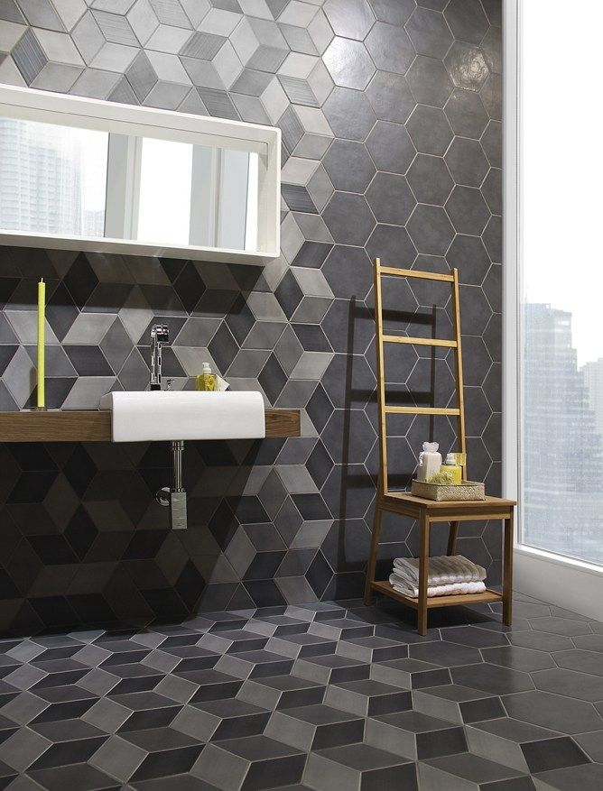 Porcelain stoneware wall/floor #tiles COLMENA by @grestectiles