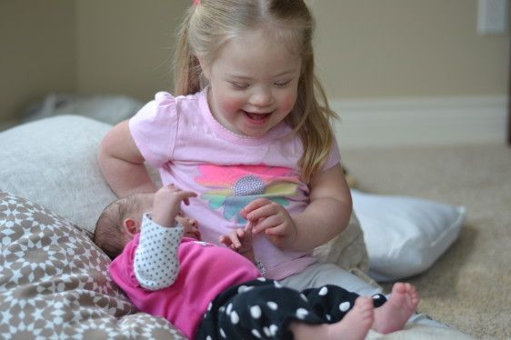 """I received an email from a reader yesterday that said: """"Hi there. I am a mother of a 6-year-old, a 4-year-old, and a one-year-old who has Down syndrome. I am curious: how did you decide to have more children after your daughter, Kate? We want another baby, but because of the statistics [of having another ... [Read more...]"""