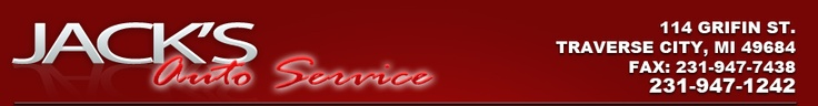 Contact JACK'S AUTO SERVICE Dealership TRAVERSE CITY MI 49684