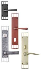 65 best images about door hardware on pinterest arts and for Arts and crafts exterior door hardware