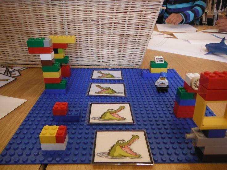 Begeleide of zelfstandige activiteit - Meer of minder met lego