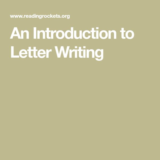 The 25+ best Introduction letter ideas on Pinterest Letter to - introduction letter