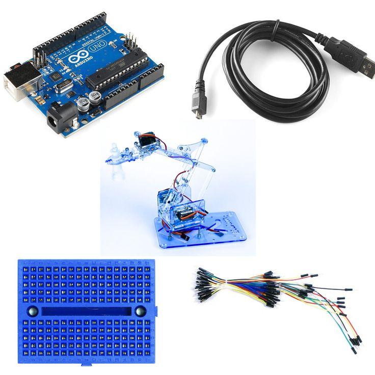 arduino robotic arm instructables
