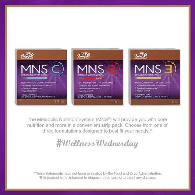 Overall good health and weight support. AdvoCare MNS