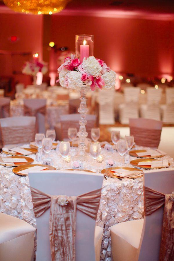 Pink And Ivory Fairytale Wedding From Still Life Media: Angela And Ike    Munaluchi Bridal Magazine