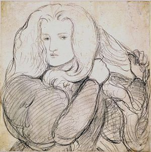 Annie Miller (1860-63) D G Rossetti