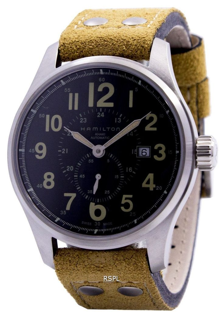 #Hamilton #Khaki Field Officer Automatic H70655733 Mens Watch
