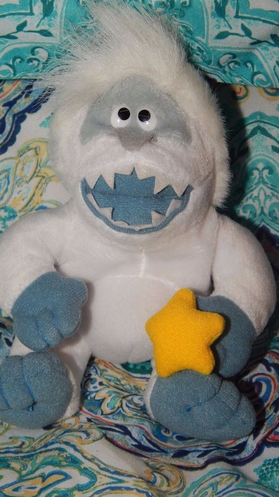 1996 CVS Rudolph Stuffins: The Island of Misfit Toys Abominable Snowman Bumble #Stuffins