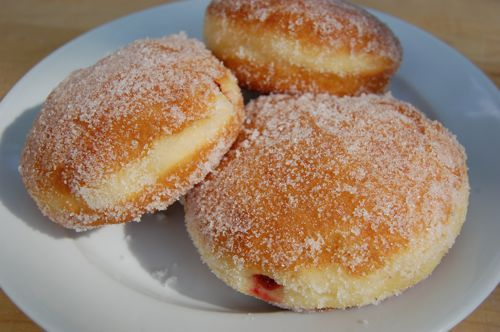 Joe Pastry's Jelly Doughnuts - I don't think there's a better recipe out there.  Completely worth the time and calories.