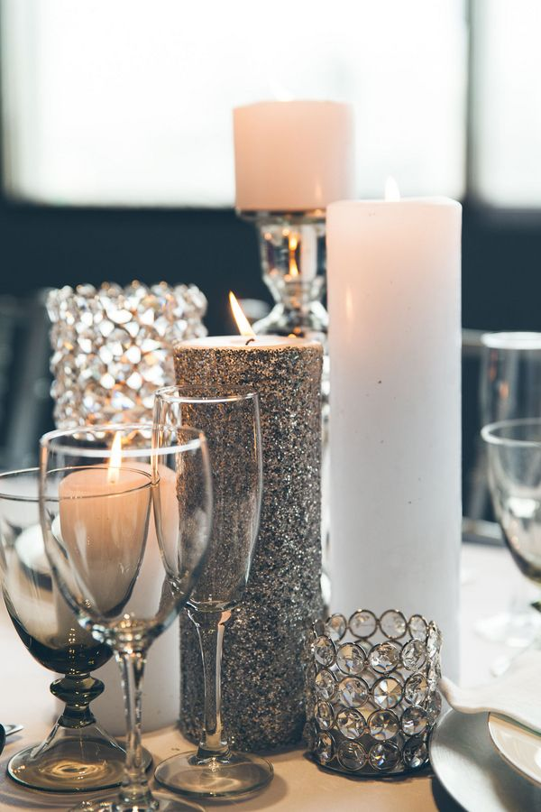Photo: Elvira Kalviste Photography - wedding centerpiece idea