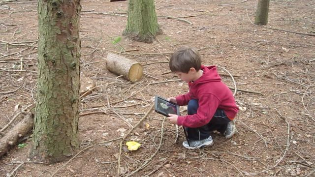 "Outdoor Learning & the iPad ("",)"