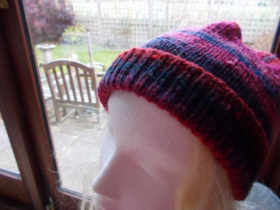 Ladies multi coloured  hat by beaulyben on Etsy