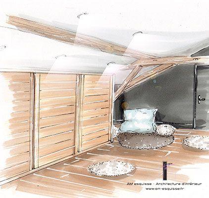 Les 25 meilleures id es concernant croquis d 39 int rieur sur pinterest re - Faire appel a un architecte d interieur ...
