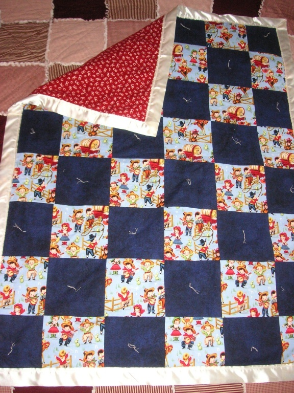 17 Best Images About Quilts Cowboys Silhouette On