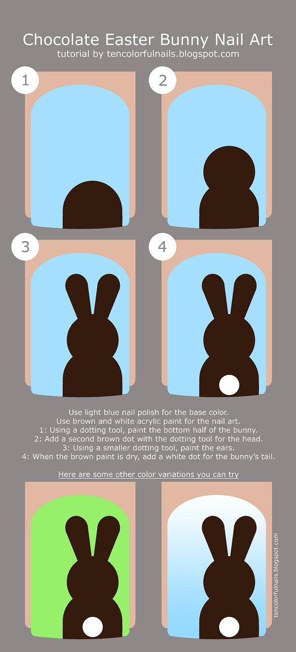 Best 20+ Bunny Nails Ideas On Pinterest  Easter Nail Designs, Easter Nail  Art And Pretty Nails
