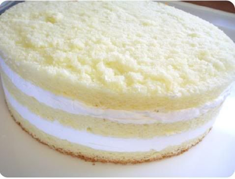 Korean Saeng Cream Cake