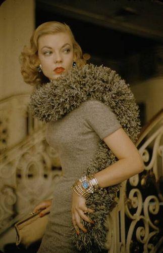 """""""caterpillar fashion""""    photographer: nina leen"""