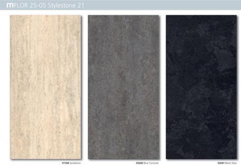 mFLOR PVC vloer steen - Berkers vloeren: cementdekvloeren, gietvloeren en siergrind