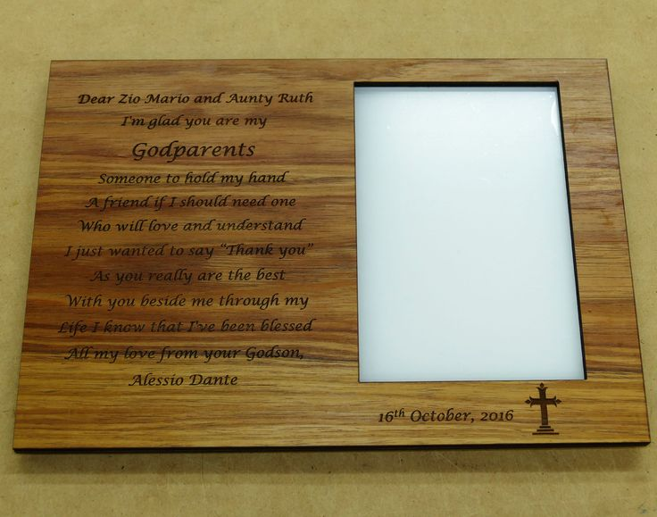 Shelf memorial plaque example with Australian blackwood. Engraved text and window for photo 100 x 150 mm