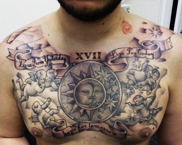 Chest Tattoo Ideas | Cuded