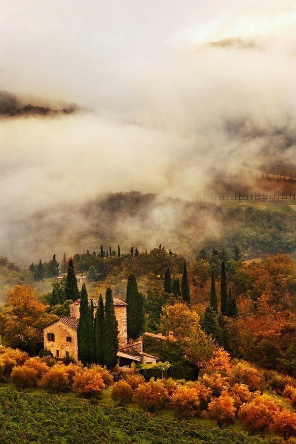 autumn in tuscany.