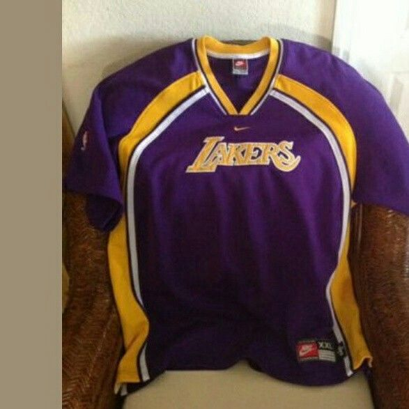Lakers vintage shirt apologise, but