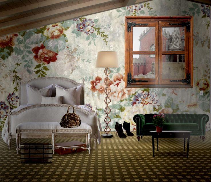 'Florist bedroom #vintage' created in #neybers