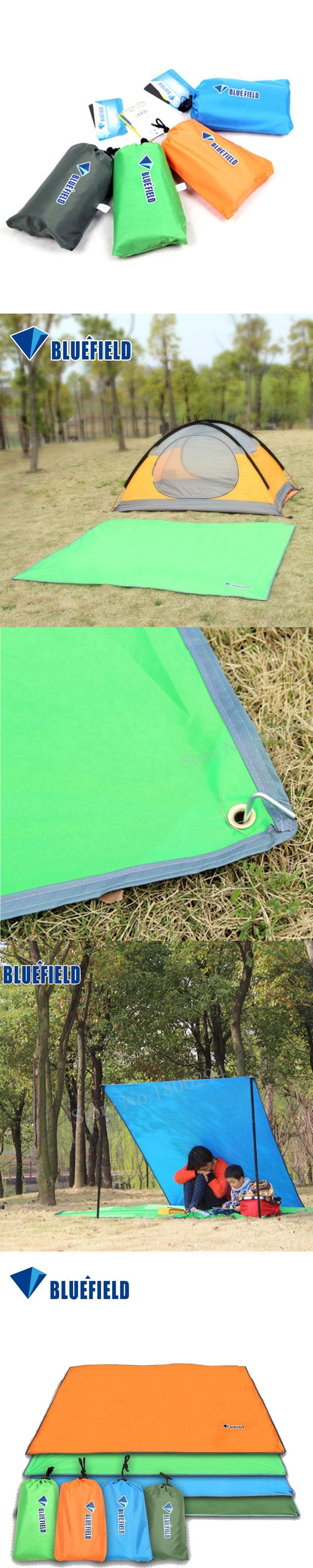 Outdoor Sun Shelter Waterproof Beach Sun Shade Camping Picnic Mat Picnic Blanket Tent Pergola Awning Canopy Tarp 4Size 4Color
