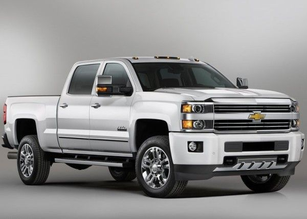 2015 Chevrolet Silverado High Country HD Front View 600x429 2015 Chevrolet Silverado High Country HD Reviews