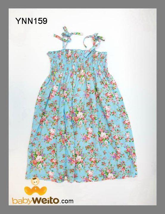 YNN159  Dress bunga  Warna sesuai gambar  IDR 185*  BCA 6320-2660-58 a/n HENDRA WEITO MANDIRI 123-00-2266058-5 a/n HENDRA WEITO PANIN 105-55-60358 a/n HENDRA WEITO  Telp :021-9388 9098