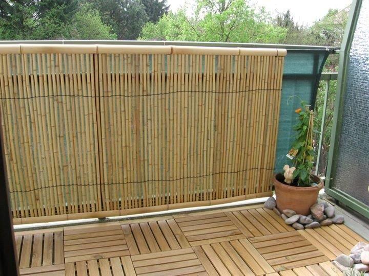 Die besten 25+ Bambus balkon Ideen auf Pinterest | Bambusgarten ...