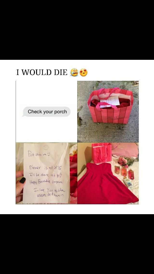 Not needed in a relationship, but it is cute! And a fun surprise
