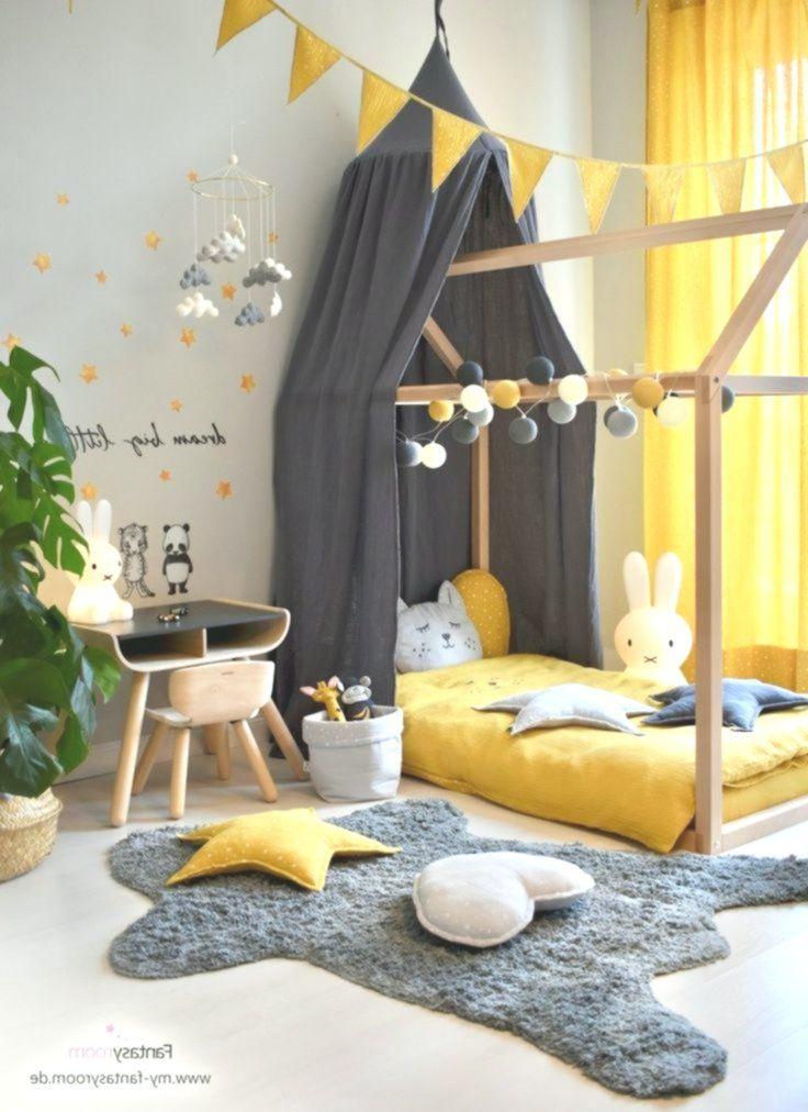 Kinderzimmer in Gelb einrichten & gestalten einrichten