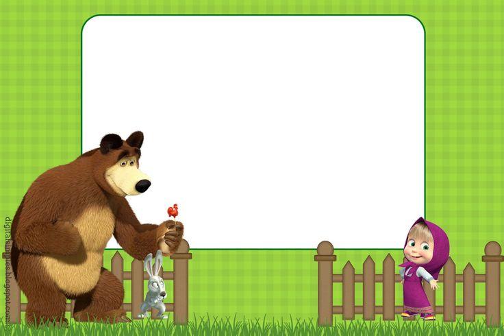 convite+Anivers%C3%A1rio+Desenho+Infantil+Masha+e+o+Urso+2.jpg (1600×1066)