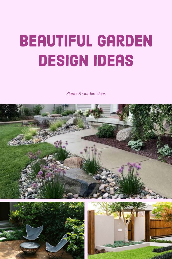 10 Beautiful Garden Design Ideas That Make Your Home Look Awesome Garden Design Small Backyard Garden Design Beautiful Gardens