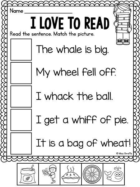 Free Wh Worksheets For Kindergarten