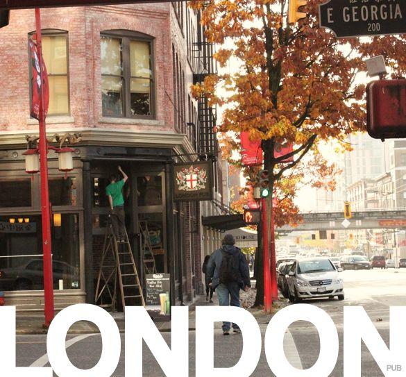 London pub Strathcona