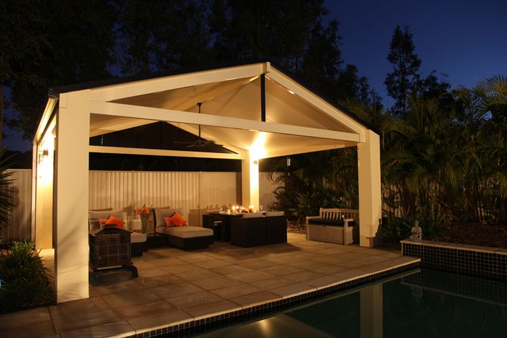 Patios Styles   SolarSpan's insulated roofing can be used in a wide variety of patio roofing styles to suit any aesthetic.