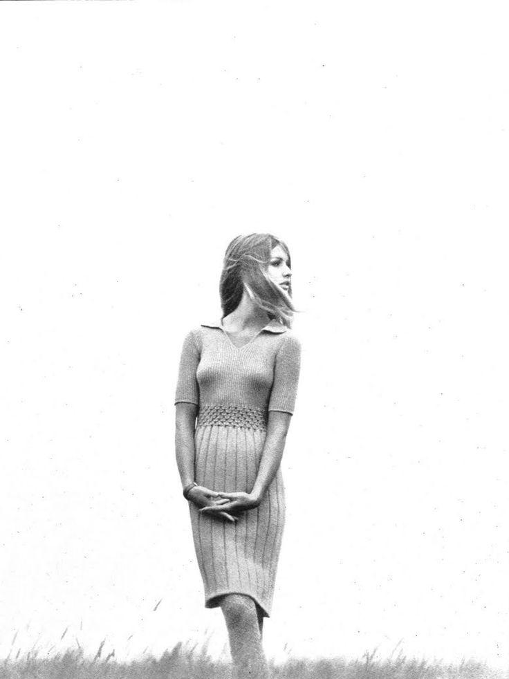Francoise Rubartelli by Franco Rubartelli, 1965.