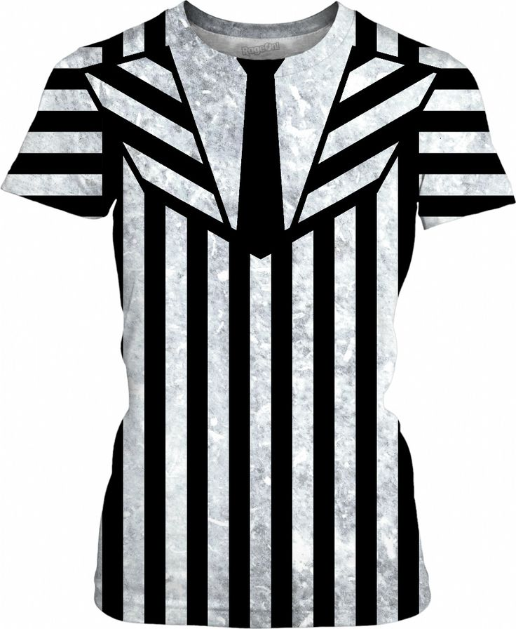 Beetlejuice suit girls fit shirt v2, black and white vertical and horizontal stripes pattern, worn out, dirty look - for more art and design be sure to visit www.casemiroarts.com, item printed by RageOn at www.rageon.com/a/users/casemiroarts - also available at www.casemiroarts.com - This product is hand made and made on-demand. Expect delivery (aproximate time frames) to US in 11-23 business days (international 14-33 business days). #shirts #clothing #style #fashion #hot #tops #sale #onsale