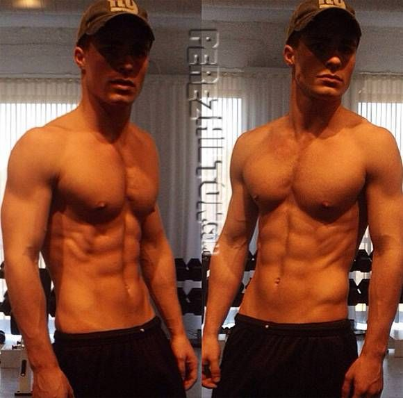 OMG! Check Out Colton Haynes' Ab-MAZING Body! Look At That Eight-Pack!