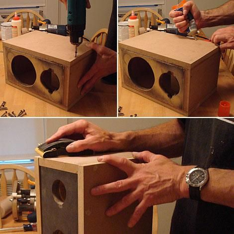 """<b>How To Build A Speaker Box</b><br>• How to Build a Subwoofer Box<br>• How To Build A Subwoofer Box 