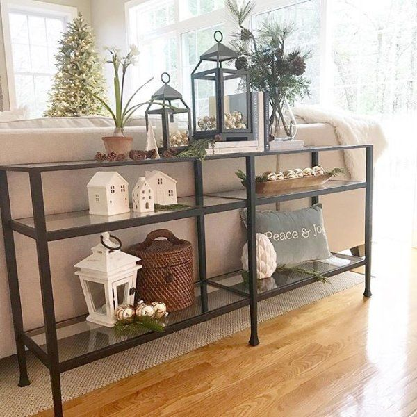 Tanner Long Console Table Nickel Finish At Pottery Barn Furniture Coffee Accent Tables Console Tables Foyer Furniture Entryway Furniture Hallway Furniture