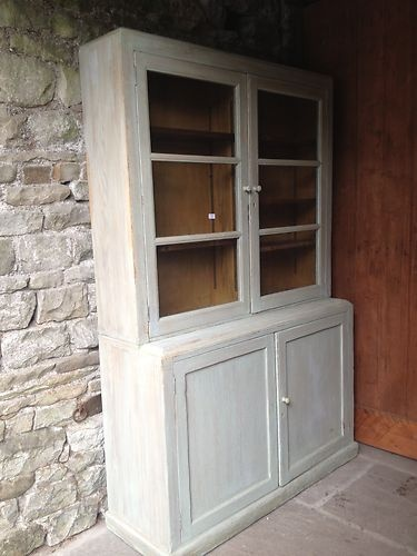 Antique Dresser School Book Case Haberdashery Unit