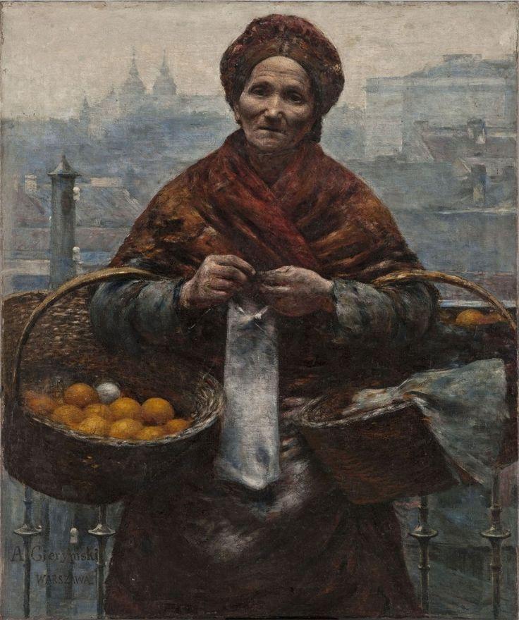 Aleksander Gierymski, Pomarańczarka, Warszawa, 1881.