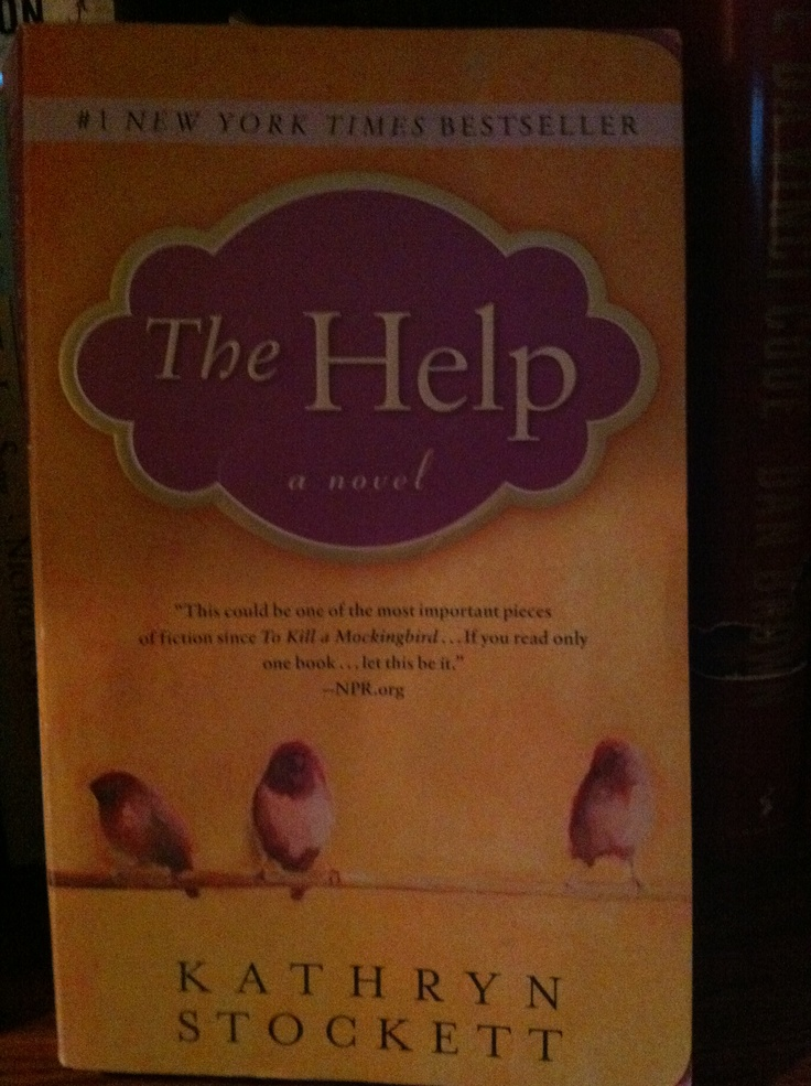 The Help....fun reading with the southern accent!