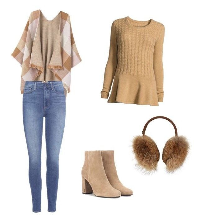 """Untitled #56"" by petricaiacob on Polyvore featuring Bogner, MANGO, Paige Denim, Neiman Marcus and Yves Saint Laurent"